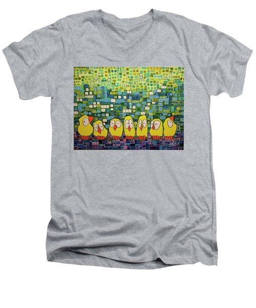 My Family Men's V-Neck T-Shirt