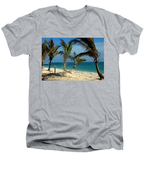 My Favorite Beach Men's V-Neck T-Shirt