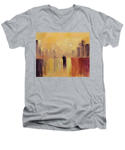 My Friend My Lover Men's V-Neck T-Shirt