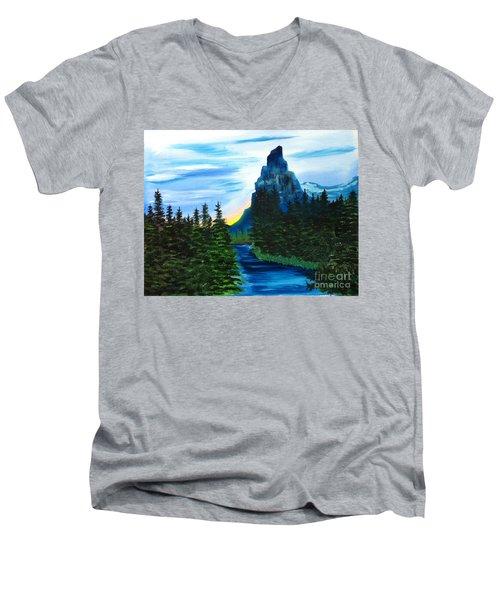 My Imagination Only Men's V-Neck T-Shirt by Rod Jellison