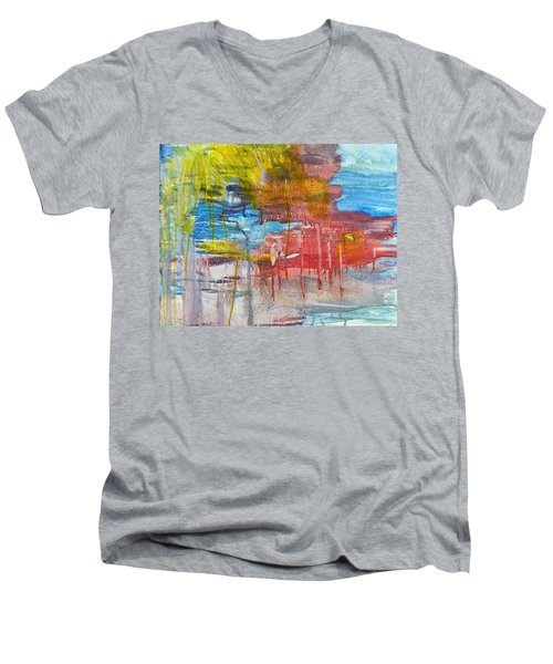 My Love Men's V-Neck T-Shirt