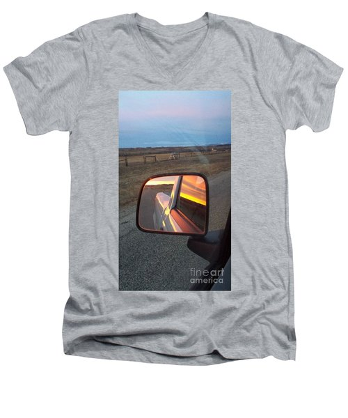 My Rear View Mirror Men's V-Neck T-Shirt