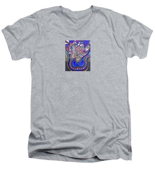 My True Center Men's V-Neck T-Shirt