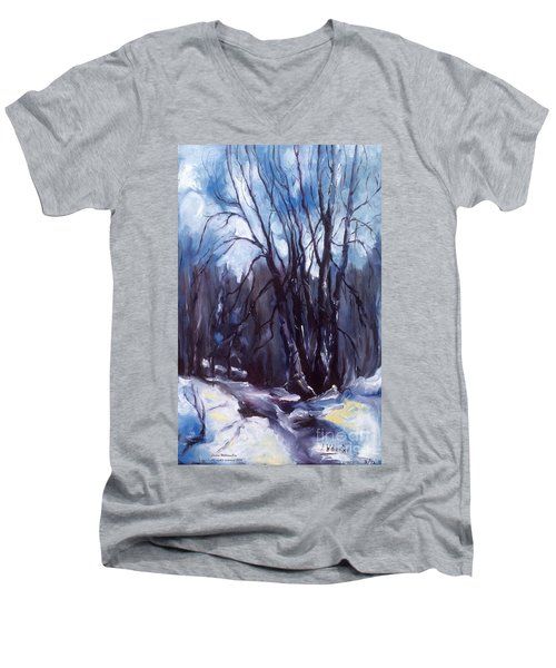 My Uncle Jack's Old Oak Tree Men's V-Neck T-Shirt