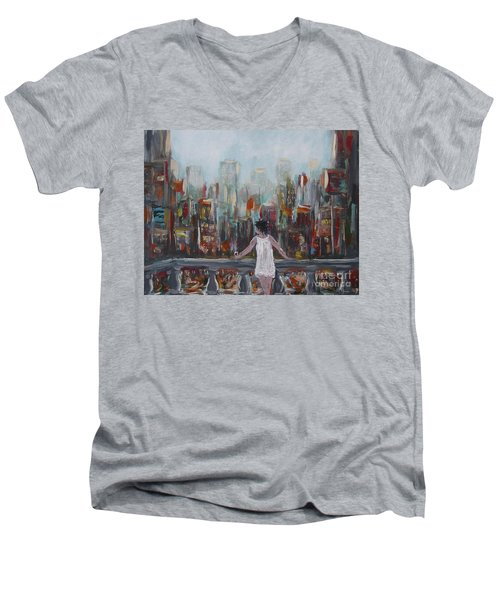 My View Men's V-Neck T-Shirt