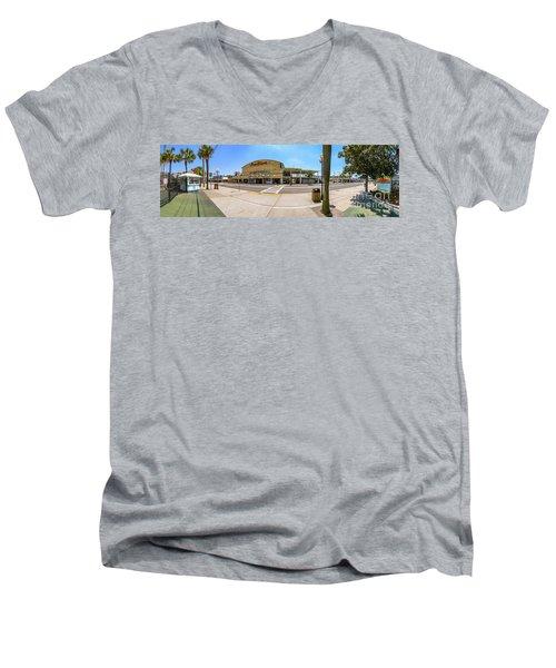 Myrtle Beach Pavilion Building Men's V-Neck T-Shirt