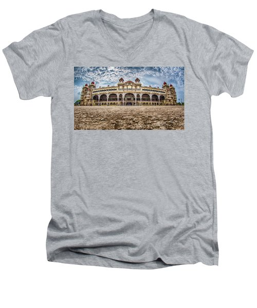 Mysore Palace Men's V-Neck T-Shirt