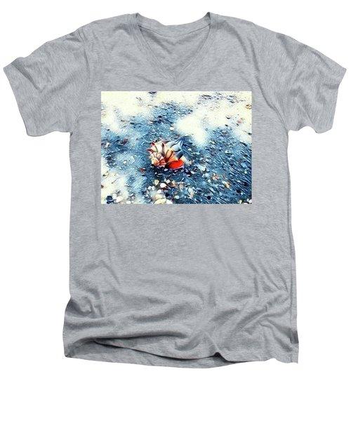 Mystic Conch Men's V-Neck T-Shirt
