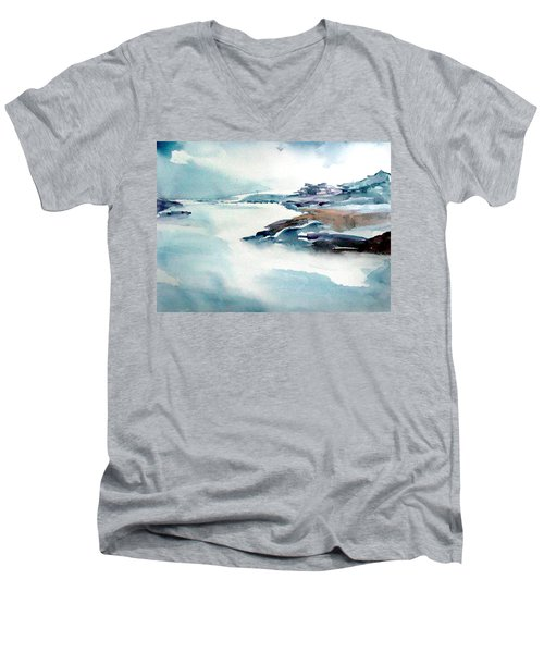 Mystic River Men's V-Neck T-Shirt