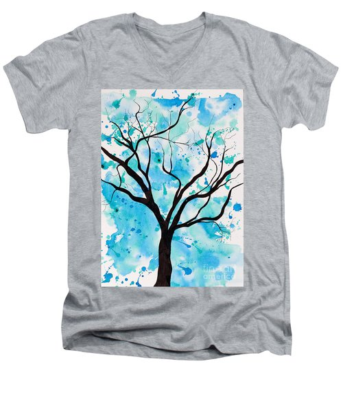 Mystic Tree Men's V-Neck T-Shirt