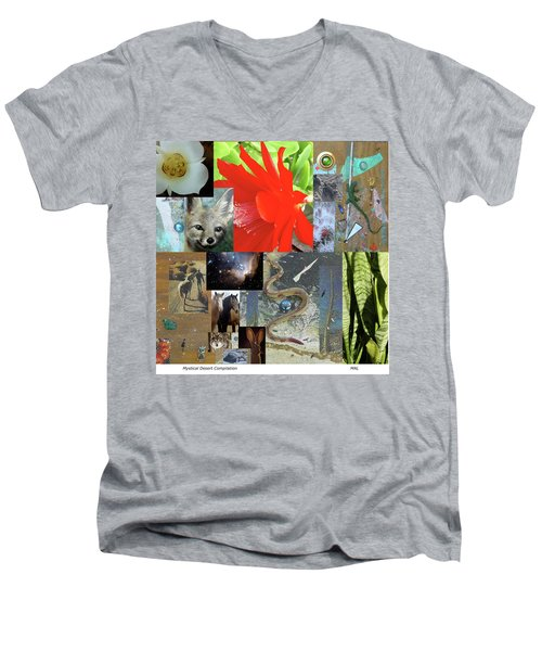 Mystical Desert Compilation Men's V-Neck T-Shirt