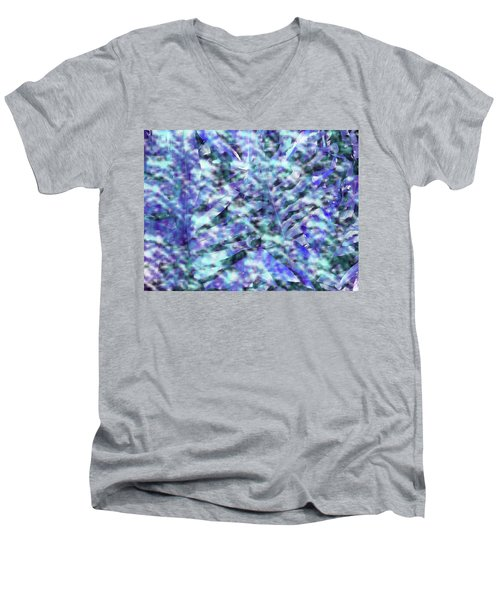 Mystical Ferns Men's V-Neck T-Shirt