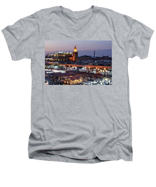 Mystical Marrakech Men's V-Neck T-Shirt