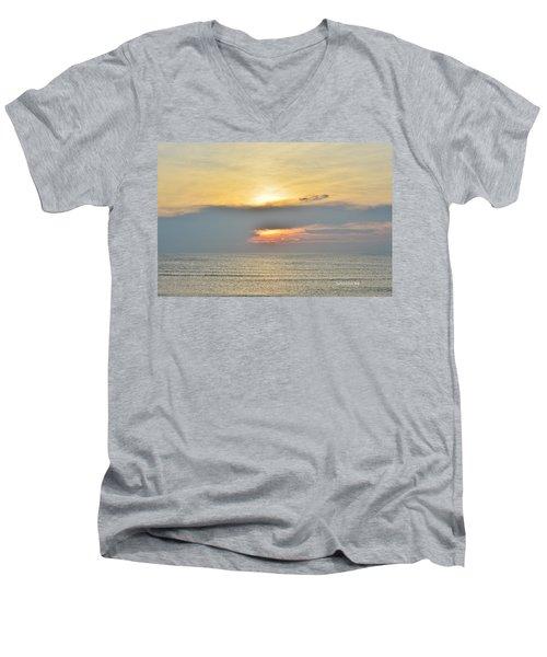 Nags Head Sunrise 7/24/16 Men's V-Neck T-Shirt