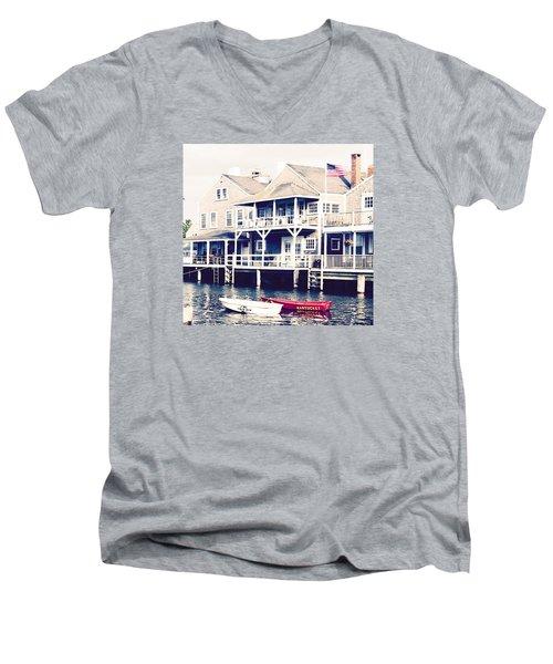 Nantucket Days Men's V-Neck T-Shirt