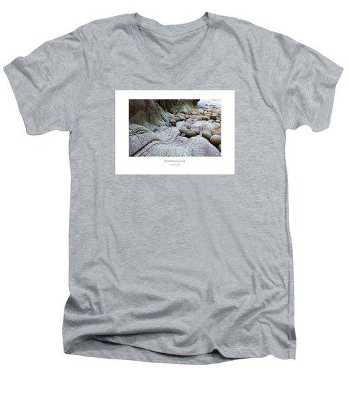 Nanven Cove Men's V-Neck T-Shirt
