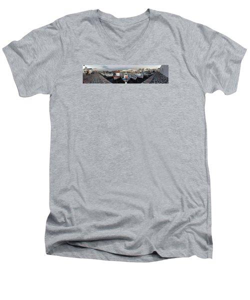 Naoussa Village Island Greece Men's V-Neck T-Shirt by Colette V Hera  Guggenheim