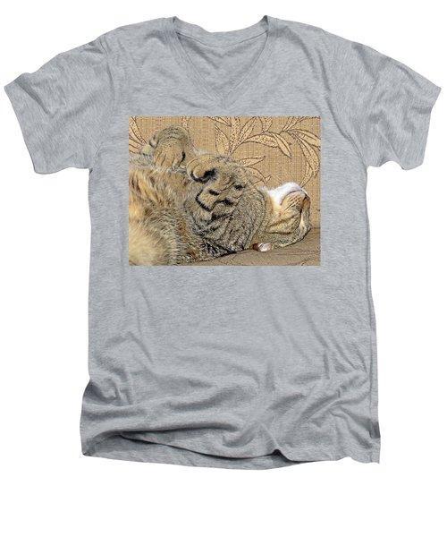 Nap Time Again Men's V-Neck T-Shirt