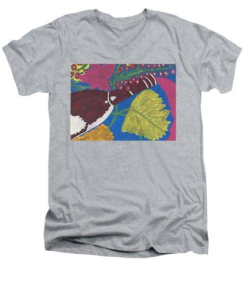 Napa Valley Tastings Men's V-Neck T-Shirt by Jonathon Hansen