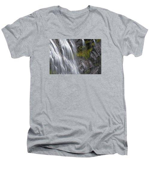 Narada Falls  Men's V-Neck T-Shirt