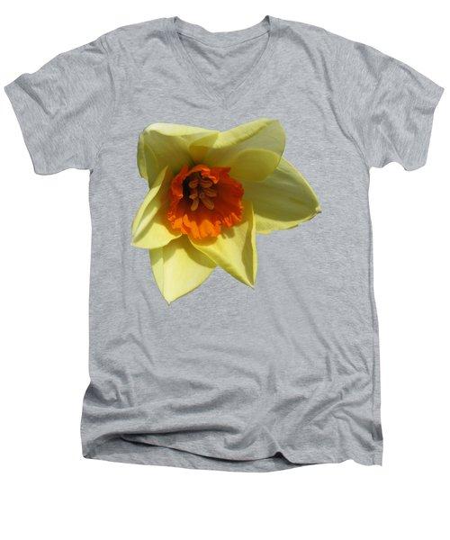 Narcissus 2 Men's V-Neck T-Shirt by Vesna Martinjak