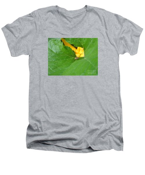 Men's V-Neck T-Shirt featuring the photograph Narrow Leaf Gorge by Christina Verdgeline