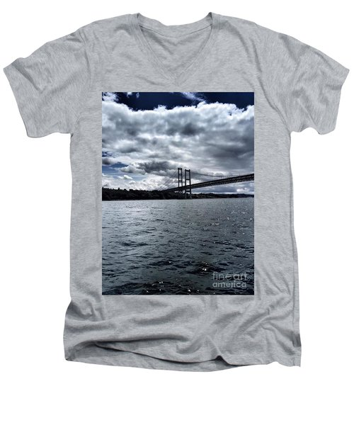 Narrows Bridge Men's V-Neck T-Shirt