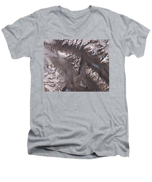 Nasa Image-dry Valleys, Antarctica-2 Men's V-Neck T-Shirt