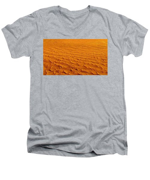 Nasa Image-namib-naukluft National Park-3  Men's V-Neck T-Shirt