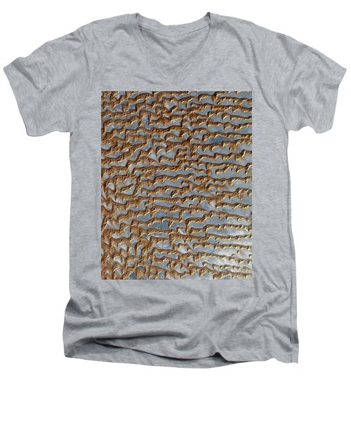 Nasa Image-rub' Al Khali, Arabia-2 Men's V-Neck T-Shirt
