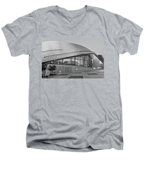 Nascar Hall Of Fame Men's V-Neck T-Shirt