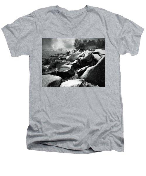 Nasty Weather Men's V-Neck T-Shirt