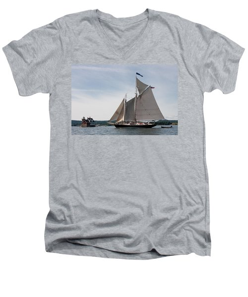 Nathaniel Bowditch 4 Men's V-Neck T-Shirt