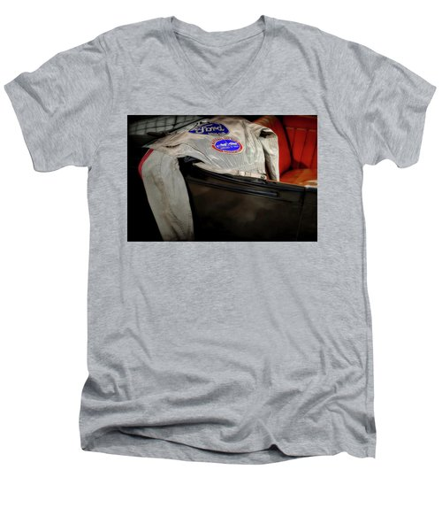 National Hot Rod Men's V-Neck T-Shirt