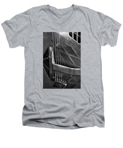 National Steel Number 24 Men's V-Neck T-Shirt