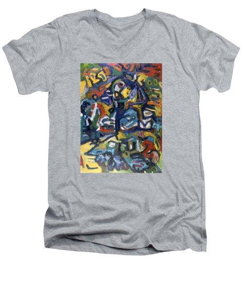 Native Colourz Men's V-Neck T-Shirt