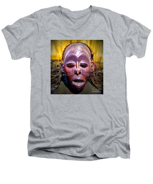 Native Mask Men's V-Neck T-Shirt