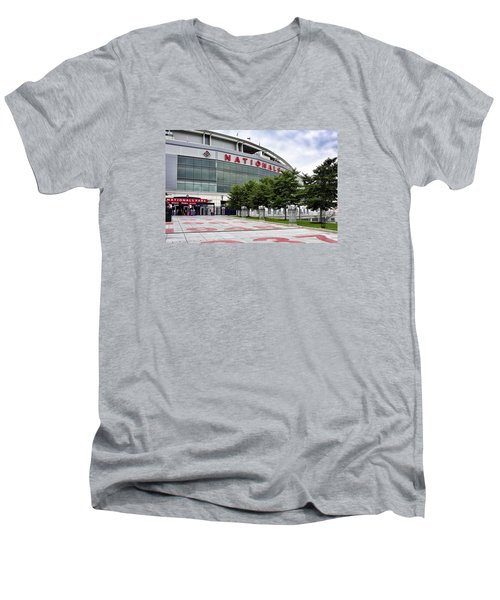 Nats Park - Front Entrance  Men's V-Neck T-Shirt