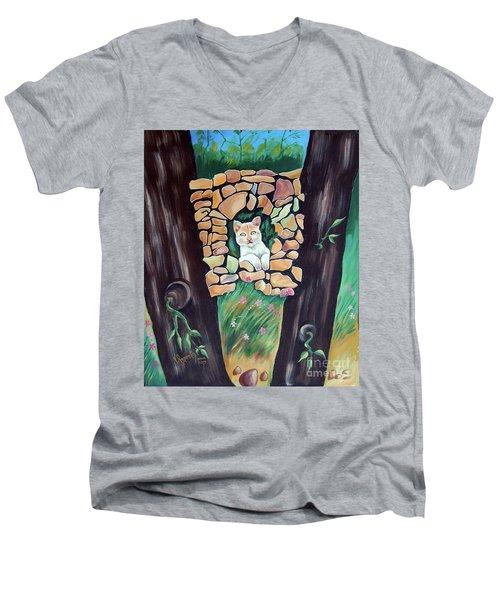 Natural Home Men's V-Neck T-Shirt