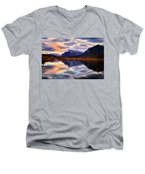 Natural Mirror Men's V-Neck T-Shirt