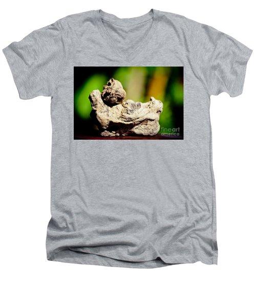 Nature Sculpture Artmif Men's V-Neck T-Shirt