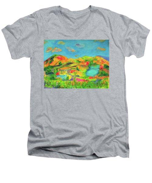 Nature Speaks Men's V-Neck T-Shirt