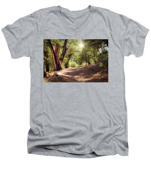 Nature Trail Men's V-Neck T-Shirt