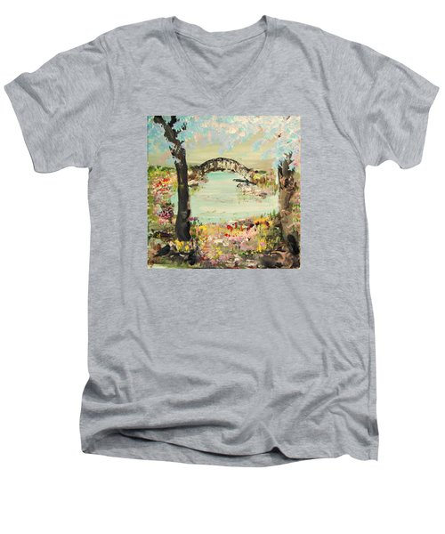 Nature Walk Men's V-Neck T-Shirt