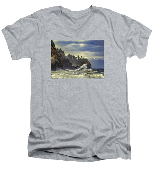 Natures Beauty Unleashed Men's V-Neck T-Shirt