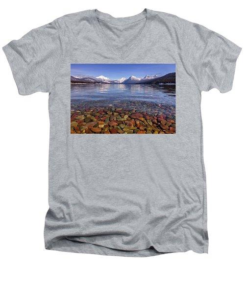 Nature's Colors Men's V-Neck T-Shirt