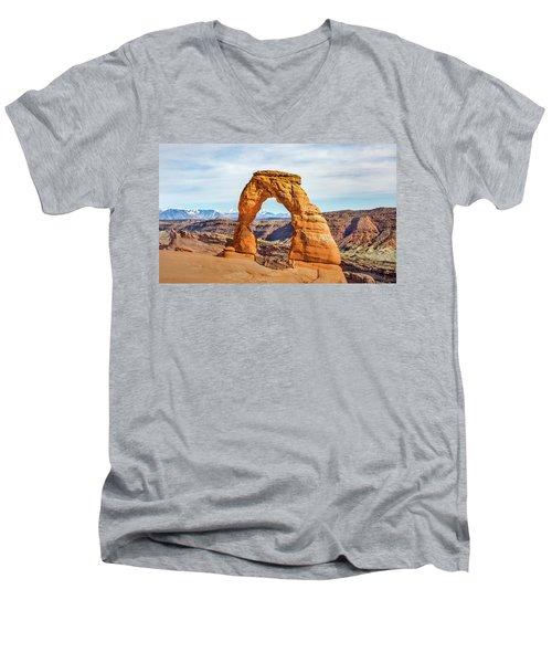 Nature's Delicate Balance Men's V-Neck T-Shirt