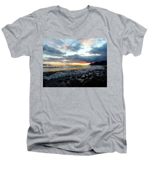 Nature's Force Men's V-Neck T-Shirt