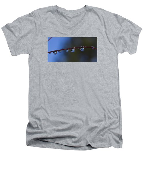 Nature's Orbs Men's V-Neck T-Shirt