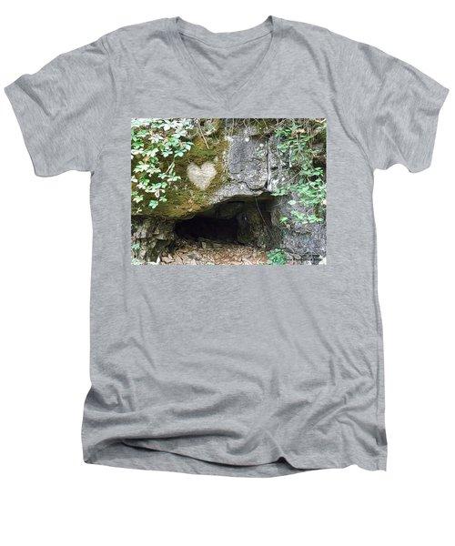 Natures Promise Men's V-Neck T-Shirt